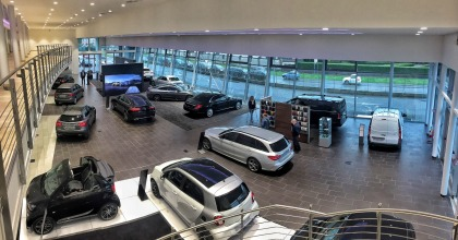 traditional car dealership