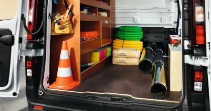 trasporto materiali veicoli commerciali allestiti Renault