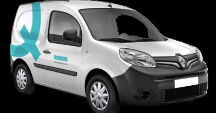 van sharing Ubeeqo Renault Kangoo