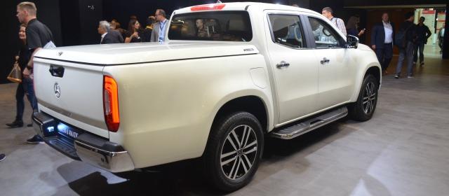 veicoli commerciali 2018 nuovo Mercedes Classe X