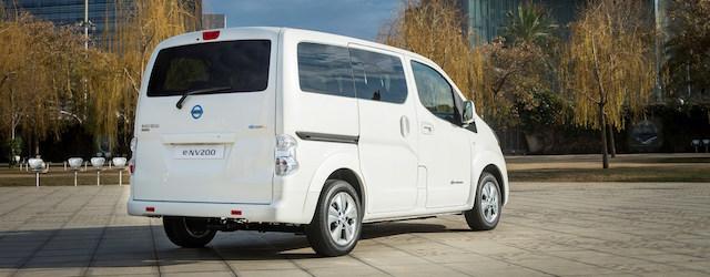 Tra i veicoli commerciali elettrici è stato presentato in anteprima mondiale il nuovo Nissan e-NV200