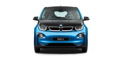visione frontale BMW i3