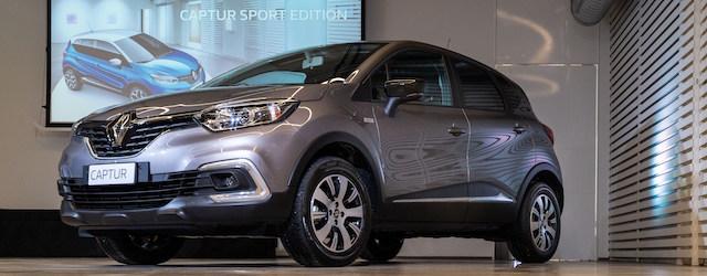 visione laterale del nuovo Renault Captur Sport Edition