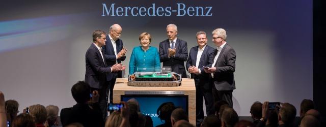 auto elettriche Mercedes Kamenz