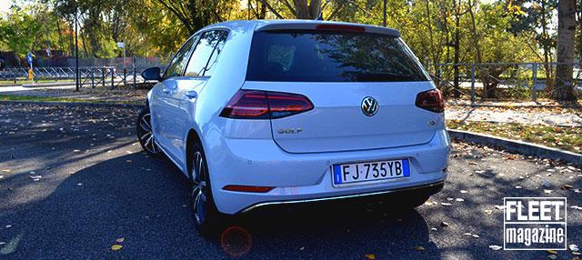 prova su strada Volkswagen Golf 2017