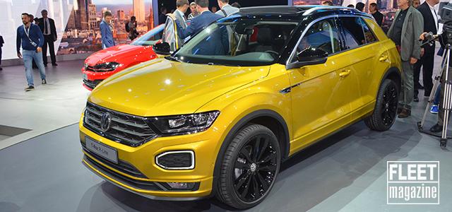 Volkswagen T-Roc al Salone di Francoforte 2017