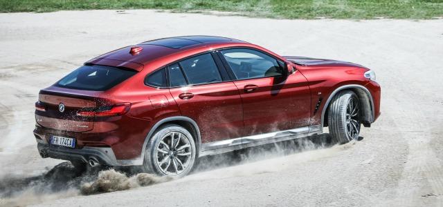 Aerodinamica nuova BMW X4