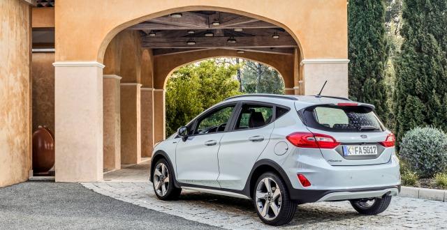 Assetto nuova Ford Fiesta Active 2018