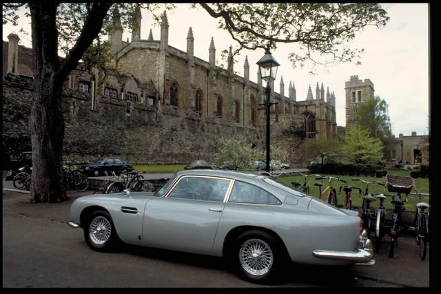 Caratteristiche della Aston Martin DB5