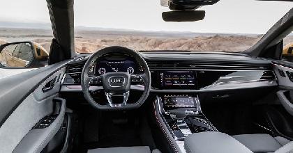 Spazi e dimensioni di Audi Q8