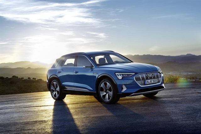 Audi e-tron suv elettrico