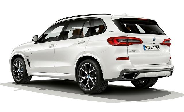 Autonomia elettrica di nuova BMW X5 ibrida plug-in
