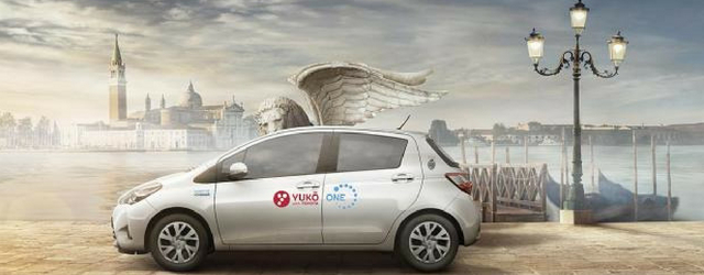 Car sharing Yuko Venezia auto ibride