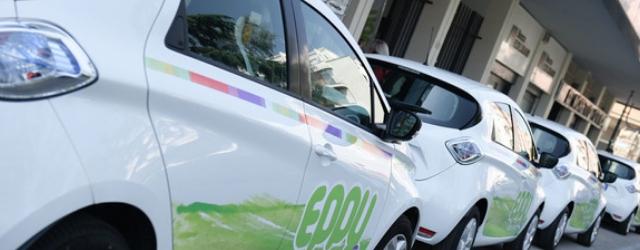 Car sharing elettrico Eppy Latina Renault Zoe