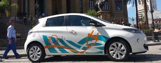 Car sharing elettrico Renault Zoe Palermo