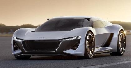 Concept monoposto elettrica Audi