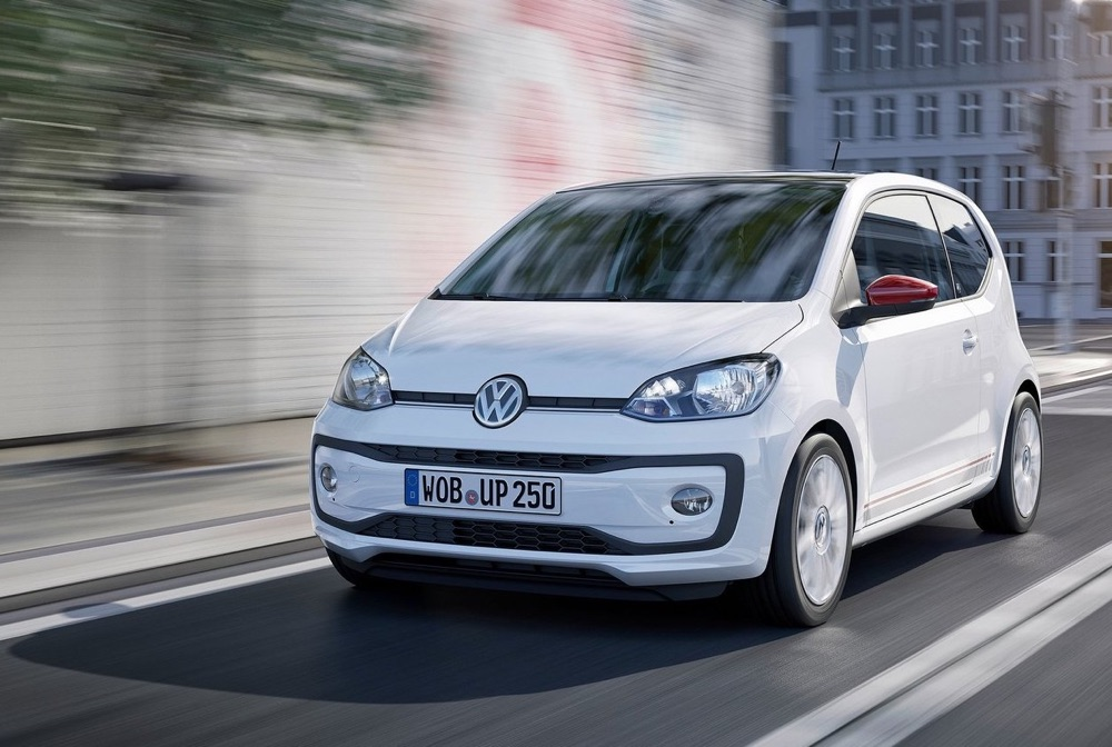 Consumi Volkswagen up! a metano