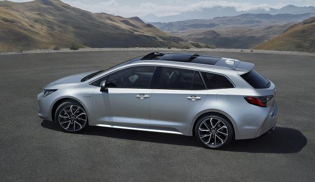 Dimensioni di nuova Toyota Corolla Touring Sports