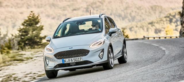 Esterni nuova Ford Fiesta Active 2018