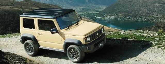 Esterni nuovo Suzuki Jimny 2018