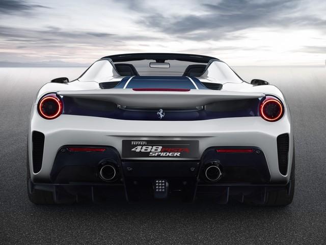 Peso di Ferrari 488 Pista Spider