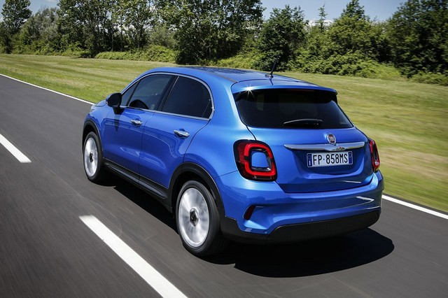 nuova Fiat 500X restyling 2019 buy by the mile