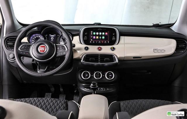 Interni di Fiat 500X restyling 2019