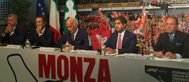 GP Italia 2018 Formula 1 presentazione a Monza