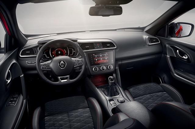 Interni di Renault Kadjar 2018