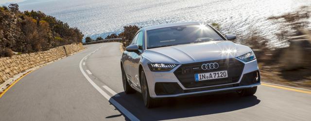 Nuova Audi A7 Sportback su strada