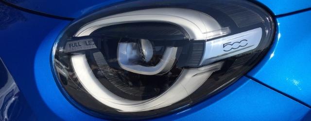 Nuova Fiat 500X 2019 gruppi ottici a Led