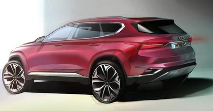 Nuova Hyundai Santa Fe 2018 teaser