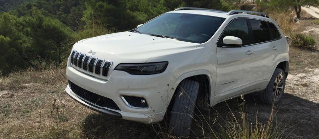 Nuova Jeep Cherokee 2019 off road