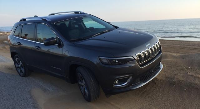 Nuova Jeep Cherokee 2019 prova