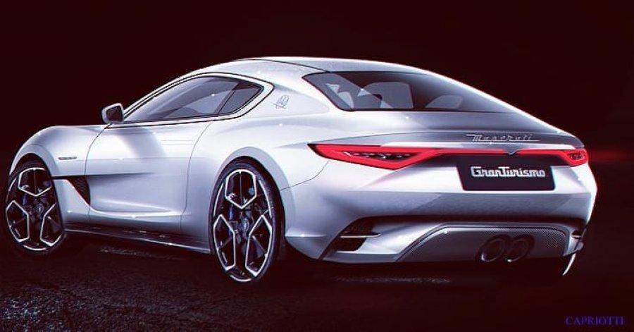 Nuova Maserati Granturismo 2021 render