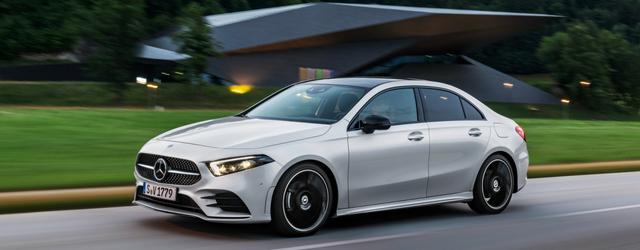 Nuova Mercedes Classe A Berlina 2019