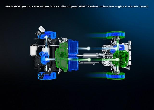 Peugeot 3008 ibrida plug-in