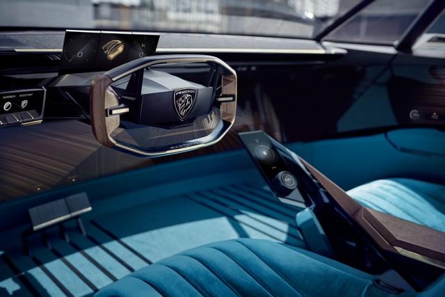 Peugeot E Legend Coupe Elettrica E Autonoma Al Sapore Di 504