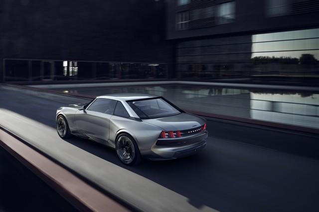 Motore di Peugeot e-Legend Concept