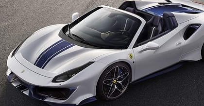Scheda tecnica di Ferrari 488 Pista Spider