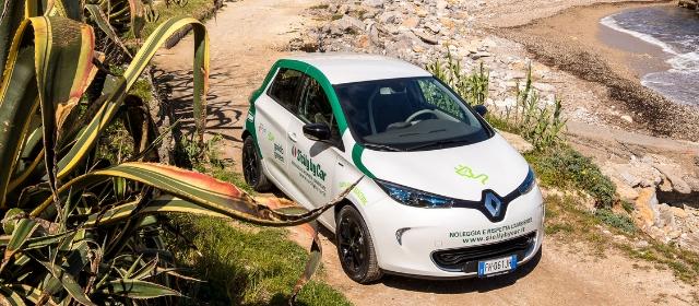 Sicily by Car promuove il progetto Donna Sicilia con le Renault Zoe