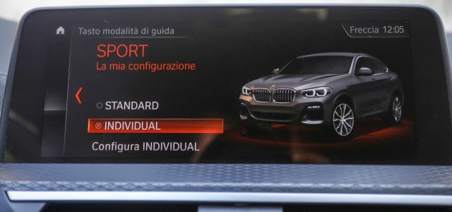 Tecnologia nuova BMW X4