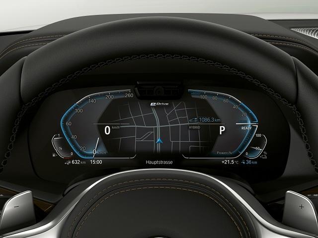 Uscita di nuova BMW X5 ibrida plug-in