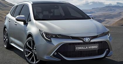 Uscita di nuova Toyota Corolla station wagon