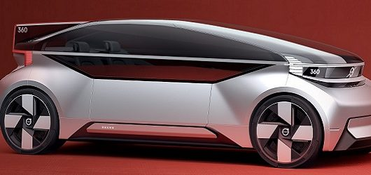 Volvo 360c Concept autonomo