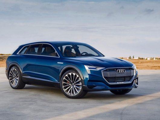 Audi e-tron suv elettrico 2018