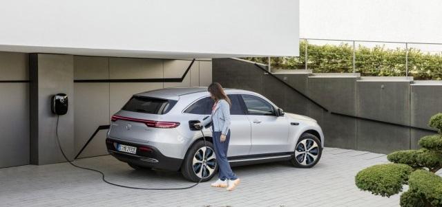 Autonomia ricarica elettrica Mercedes EQC
