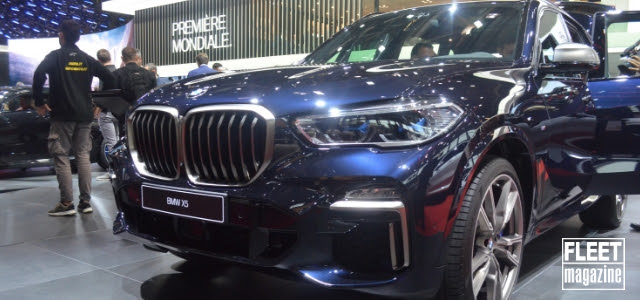 BMW X5 al Salone di Parigi 2018