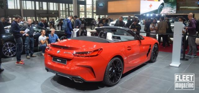 BMW Z4 al Salone di Parigi 2018