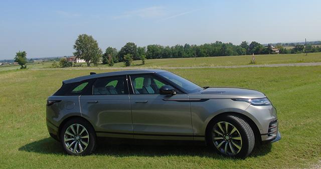 dimensioni Range Rover Velar